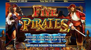 игровой аппарат Five Pirates