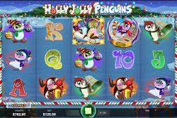 слот Holly Jolly Penguins