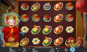 Игровой автомат God of Cookery