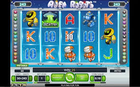 автомат Alien Robots