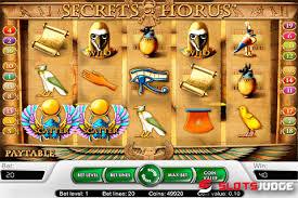 слоте Secrets of Horus