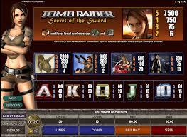 Видео слот Tomb Raider II