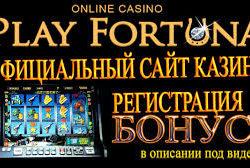 Play Fortuna casino.